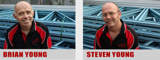 The Business owners of Complete Steel Frames